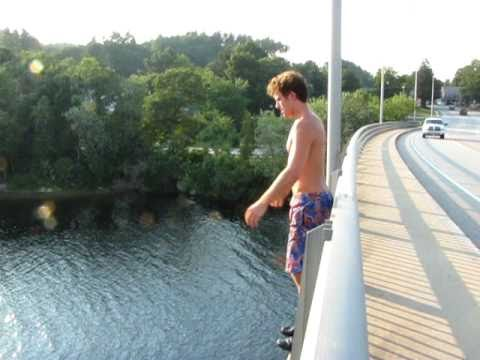 KICKASS 60ft gainer off Hooksett overpass