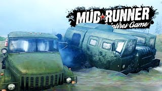 EXTREME OFF ROAD RACE W/ HUGE ARTILLERY TRUCKS! - Spintires MudRunner Multiplayer Gameplay