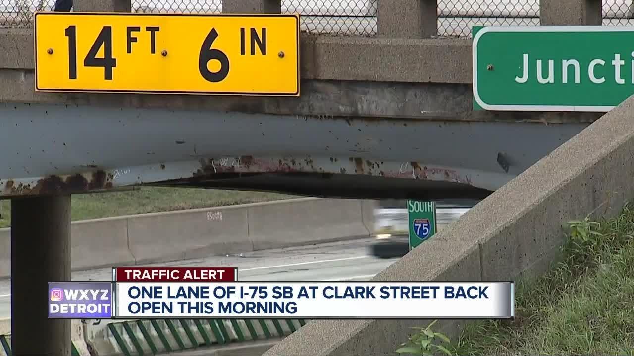 I-75 back open in southwest Detroit for now