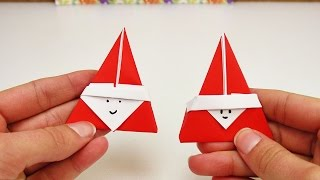 Download Video Süßes Nikolaus Origami DIY | Super niedliches Origami für den Nikolaus Tag | Weihnachtsmann MP3 3GP MP4