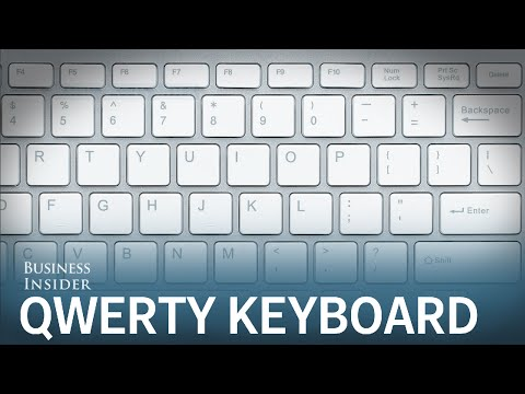 Here's why keyboards aren't arranged in alphabetical order