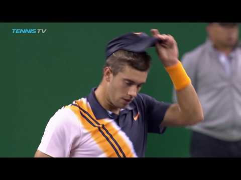 Coric, Tsitsipas outlast tour veterans | Shanghai 2018 Highlights Day 2