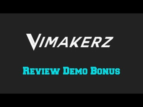 Vimakerz Video Templates Review Demo Bonus - High Quality Po