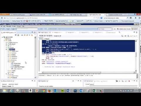 Wikipedia Data Analysis Using SAP HANA One