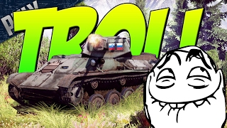 SUPER TROLL TANK- ZUT-37 Autocannon [War Thunder Troll Gameplay]