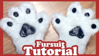 Fursuit Pfoten Tutorial (Fursuitbau)