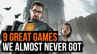 9 great games that barely escaped development hell
