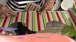 Técnica de barrados com a régua Ipanema