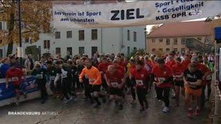 39 Hubertuslauf in Neuruppin in BRANDENBURG AKTUELL