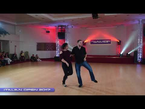 Italian Open 2017 Pro Show - Bret & Joëlle Navarre