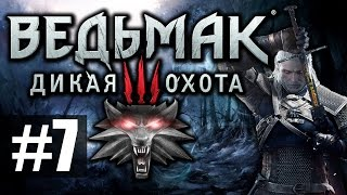 Ведьмак 3: Дикая Охота [Witcher 3] - Прохождение на русском - ч.7 - Новая колдунья