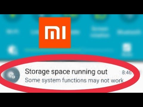 Redmi phones || Storage Space Running out problem solve