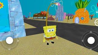 Games Spongebob keliling kota di Android - Spongebob in Bikini Bottom
