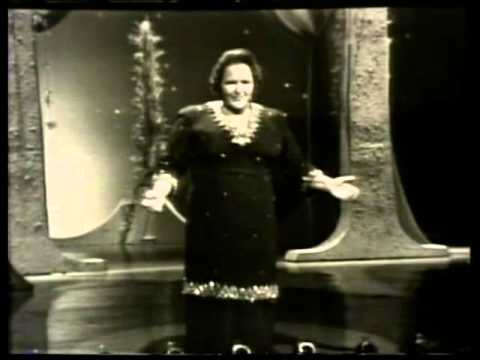 Kate Smith plays the Hollywood Palace 1/23/65
