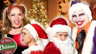 JOKER HARLEY QUINN CHRISTMAS RAP! hilarious parody music video - TheSeanWardShow