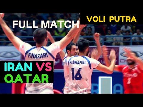 IRAN vs QATAR  2018 MEN'S WORLD VOLLEYBALL CHAMPIONSHIP FINALS AVC