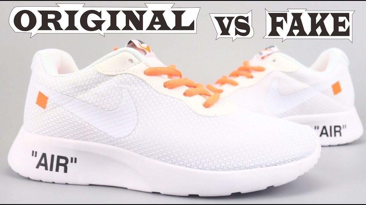 oficjalne zdjęcia Najlepsze miejsce kupować nowe Nike Tanjun X Off White Original & Fake