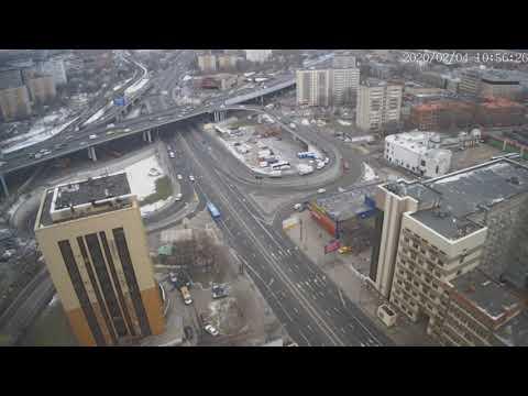 Москва - Нижегородская улица - веб камера 04.02.2020, 07:57