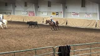 Annsley and Rhett team roping Saturday HYRA
