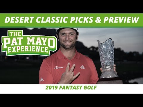 Fantasy Golf Picks - 2019 Desert Classic Picks, One and Done Selections, Kuchar's Caddy