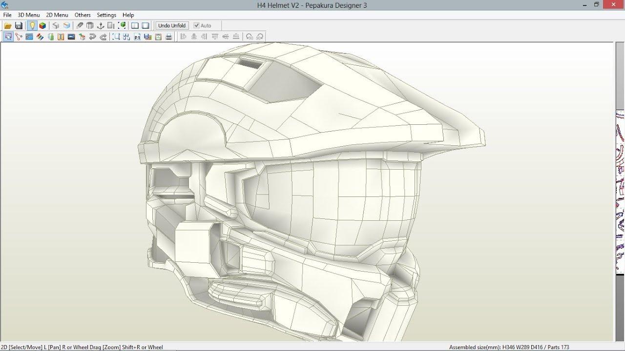 Link a los archivo Pepakura de las armaduras y cascos de Halo y ...
