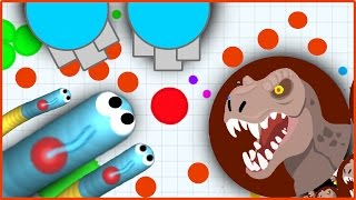 AGAR.IO VS SLITHER.IO VS DIEP.IO -TOP PLAYER IN ALL .IO GAMES!