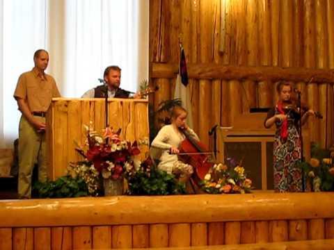 David Evans and The Calhoun Family at North Pole Missionary Chapel