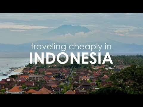 Traveling Cheaply in Indonesia