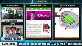 Fotbollskanalen Headlines: Supporterilska efter Zlatan-läktare - TV4 Sport