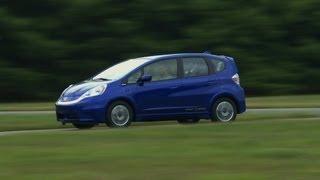 Honda Fit EV first drive Consumer Reports