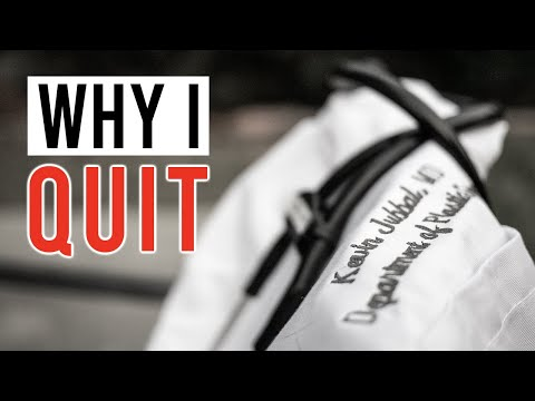 WHY I Quit Plastic Surgery Residency