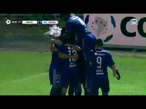 Emelec 2 - 0 Deportivo Táchira Copa Libertadores 2016