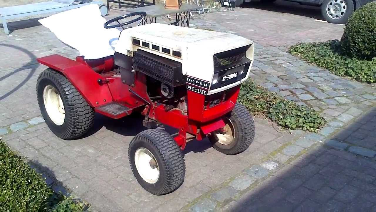 Roper Lawn Tractors And Garden : Roper sears t onan twin youtube