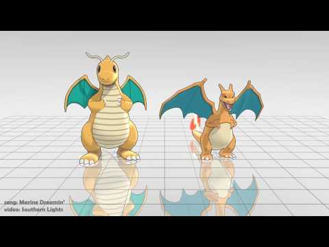 [MMD] Pokemon | Marine Dreamin'