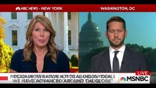 MSNBC Host Nicolle Wallace on Trump: 'Does He Have Any Idea How Idiotic He Sounds?'