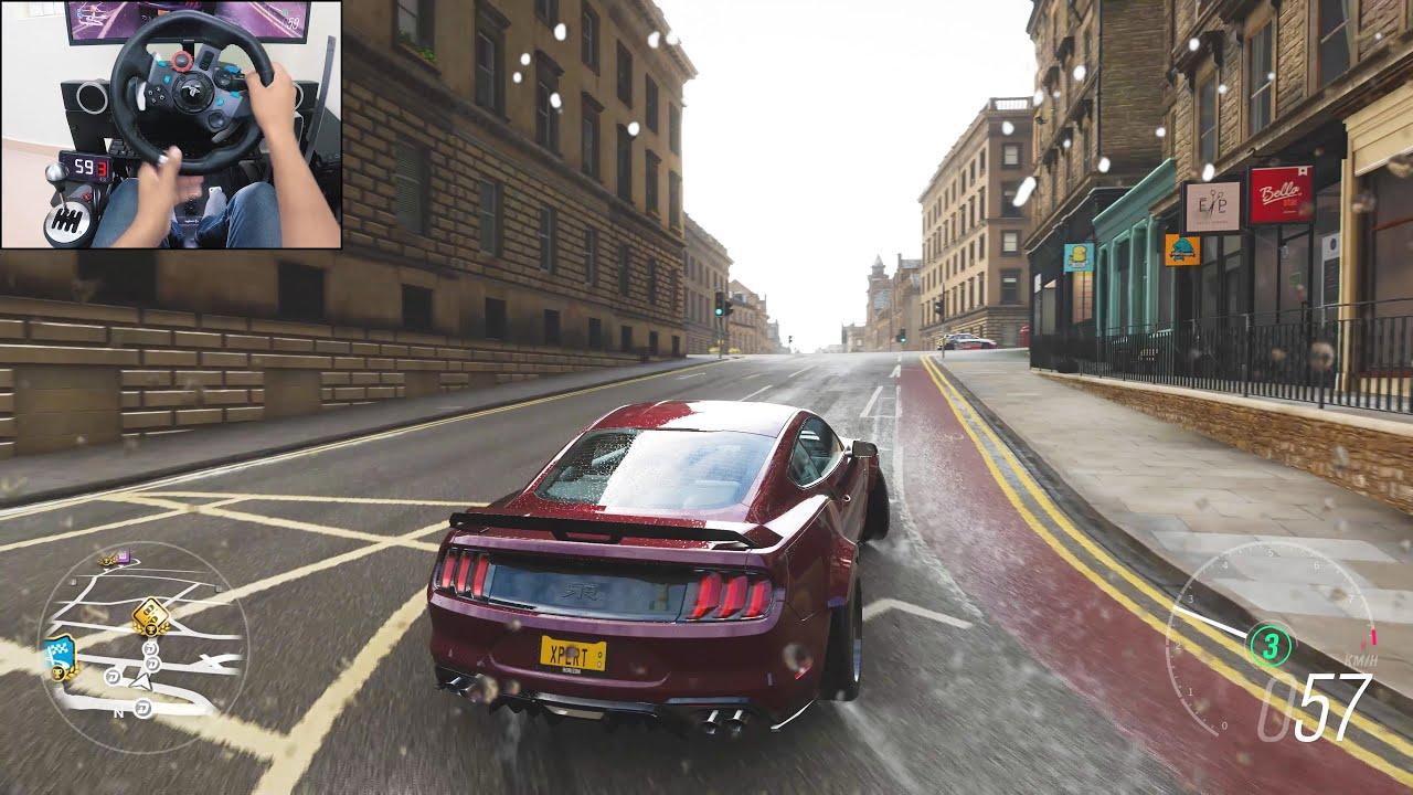 800+BHP Ford Mustang RTR Spec 5 - Forza Horizon 4 | Logitech g29 gameplay thumbnail