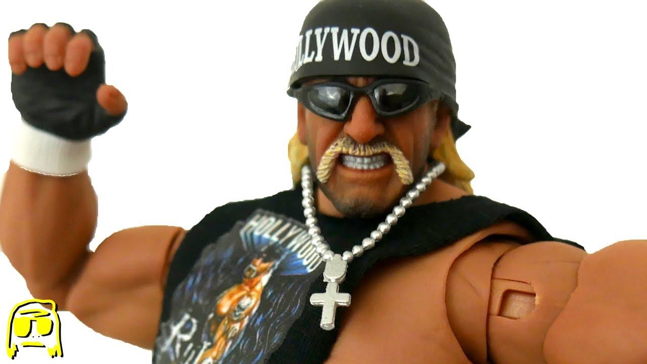 2wwe hollywood hulk hogan action figure
