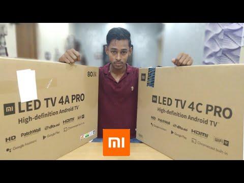 Mi Tv 4c Pro 32inch Vs Mi Tv 4a Pro 32inch ||Comparison And Opinion|| 2019 In Hindi