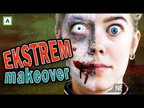 Se Lydia bli en zombie 🎃 (Skremmer folk på NRK)