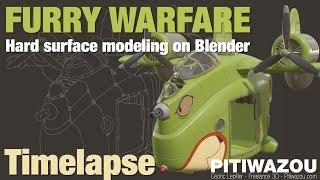 Furry Warfare - Timelapse Modeling