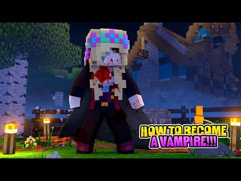 Minecraft THE VAMPIRE DIARIES-HOW LEAH BECAME A VAMPIRE!!! w/ LITTLE DONNY