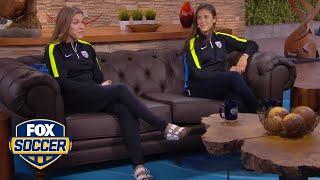 """Carli Lloyd and Kelley O'Hara join 'World Cup Tonight"""""""