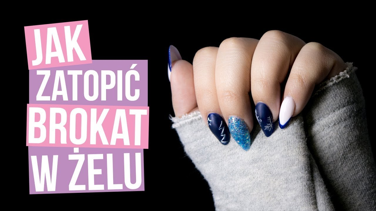 JAK ZATOPIĆ BROKAT W ŻELU – KaroLove Nails | Blogodynka
