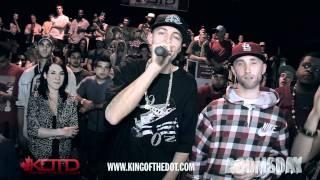 KOTD - Beatbox Battle - Scott Jackson vs Exzam