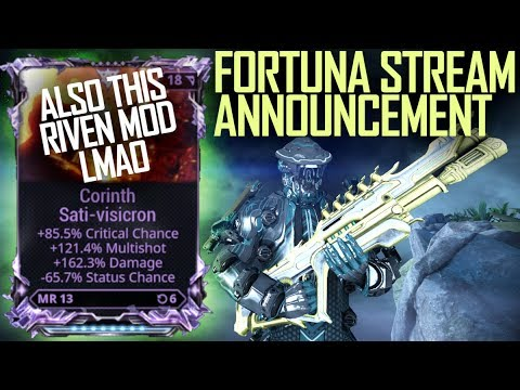 [Warframe] RIVEN MODDED CORINTH [ALSO STREAMS xd] thumbnail