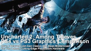 Uncharted 2: Among Thieves PS4 vs PS3 Graphics Comparison