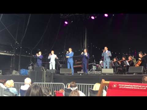 Collabro Let It Go (Frozen) - Summer In Singleton, Swansea 2015