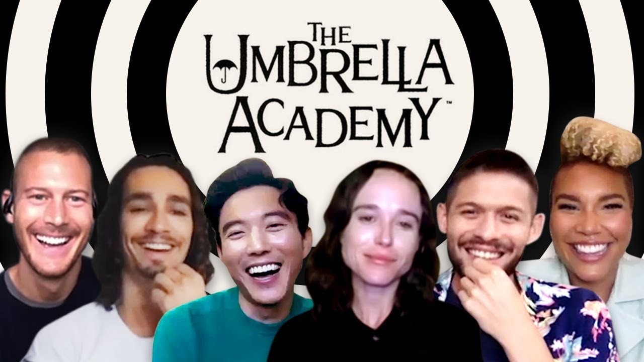 'THE UMBRELLA ACADEMY' Cast Talk Season 2!