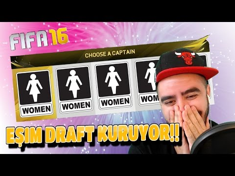 EŞIM DRAFT KURUYOR!!! - FIFA 16 FUT DRAFT