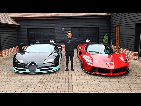 TAKING DELIVERY OF A BUGATTI VEYRON AND LAFERRARI!